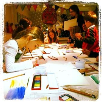 Go Sketch Fine Art Courses for Kids