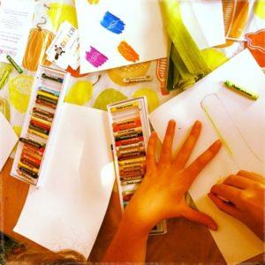 GoSketch childrens pastel art workshop