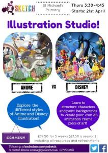 Illustration Studio St M poster smaller