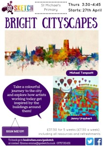 After school art workshops for children in Bristol