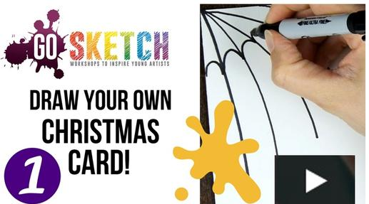 Go Sketch Online Christmas Art Video