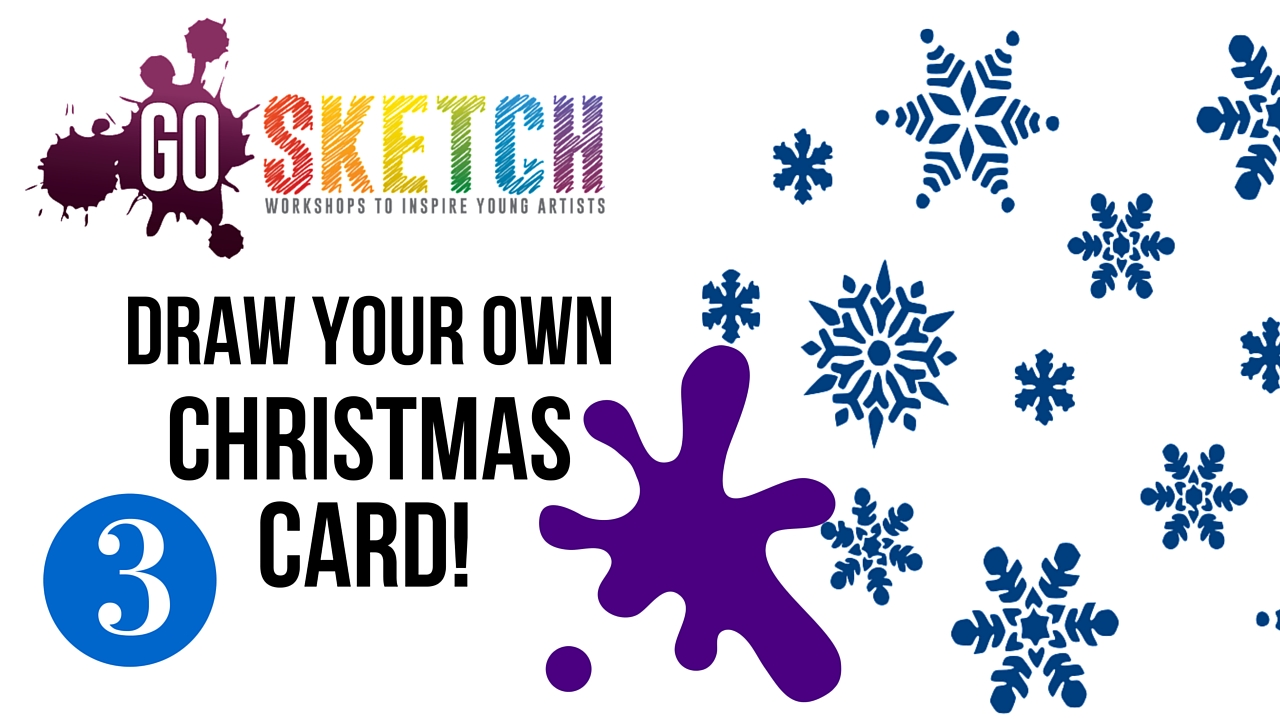 Go Sketch Online Christmas Art Tutorial