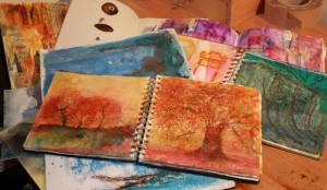 MINDFUL ART JOURNALING workshop for adults & teens (2 of 3 workshops- attend all or individually) @ Hamilton House | England | United Kingdom