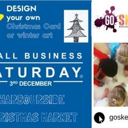 Small Business Saturday Go Sketch Harbourside Christmas Market Bristol