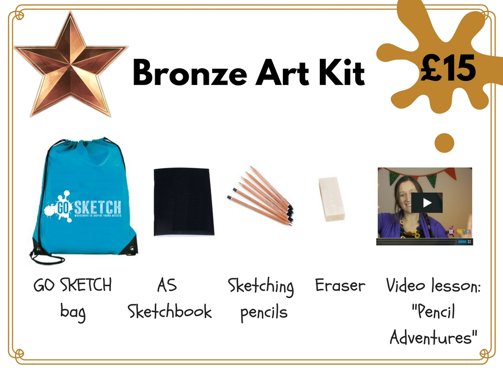 Art Kits for your arty child