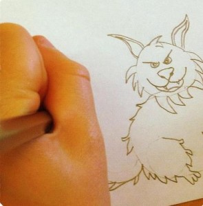 drawing animals birthday party idea for children in Bristol