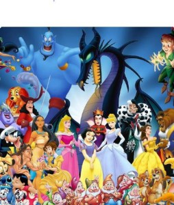 Alternative birthday party idea for children in Bristol looking at disney characters