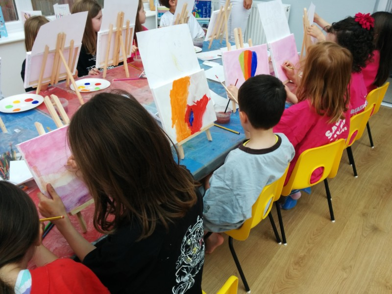 Painting party for kids in South West