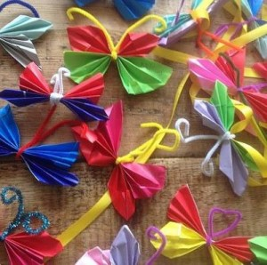 exciting birthday parties for children in Bristol exploring the beautiful art of origami
