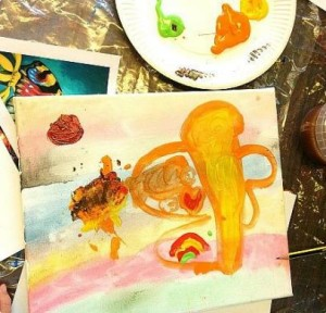 Exciting painting birthday party idea for children in Bristol