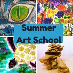 art summer holiday school in Bristol
