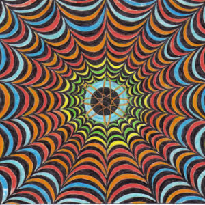 Optical Illusion Art Party for Children in Bristol and the South West