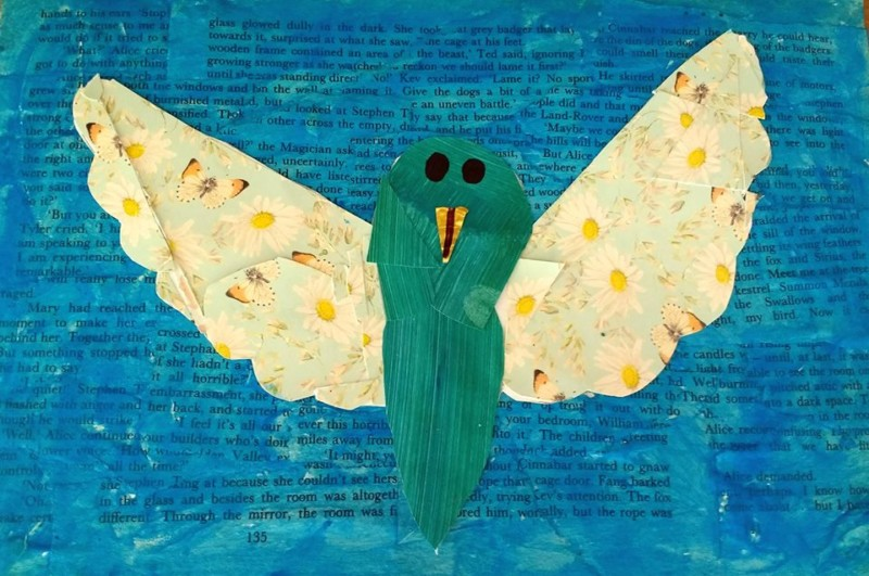 Collage art workshops for schools arts week