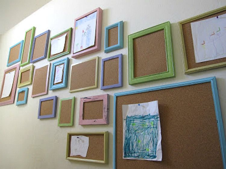 How to display kids artwork