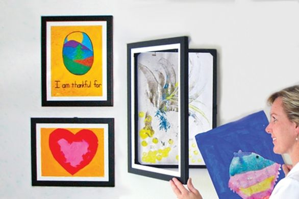 How to display all your children's artwork?