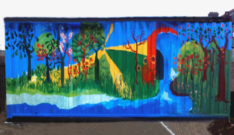 Murals art schools