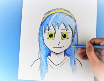 Learn to draw manga faces