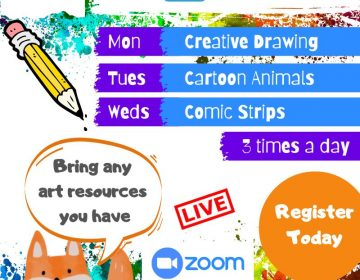 Go Sketch Online Art Course to be enjoyed by Children, Adults, Families
