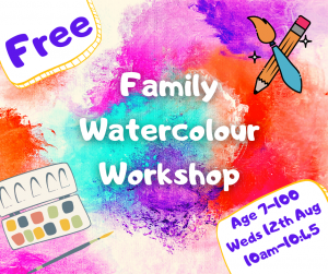 Creative drawing workshop for children and families @ Online via Zoom