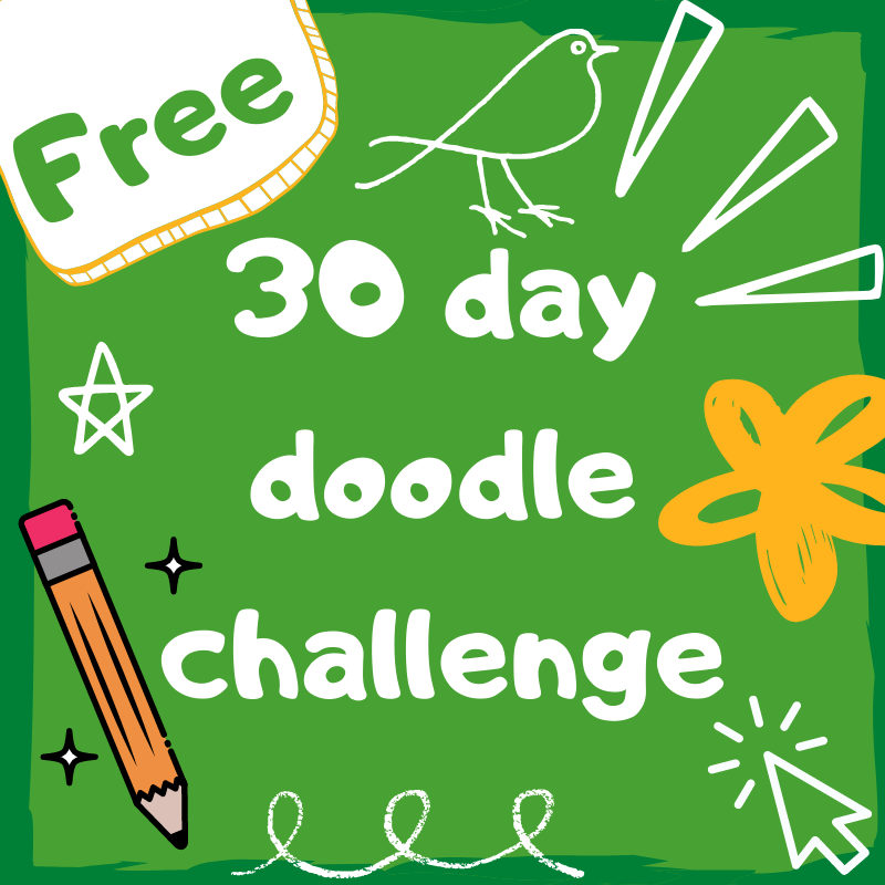 Free 30 Day doodle challenge