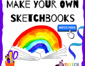 Sketchbook activities for kids