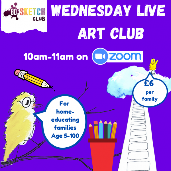 live art club home educating