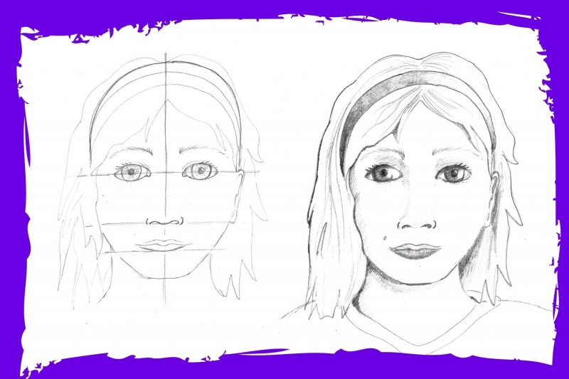 Portrait workshops for schools