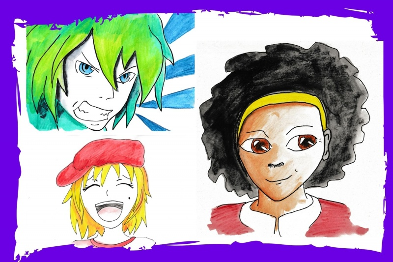 school art workshops anime manga