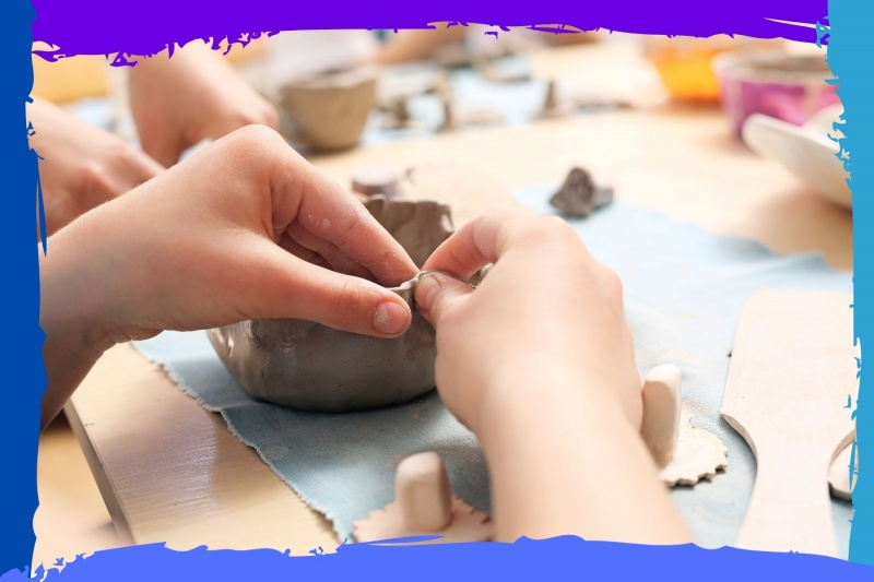 inset training in clay