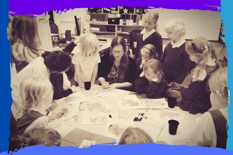 teaching art inset training