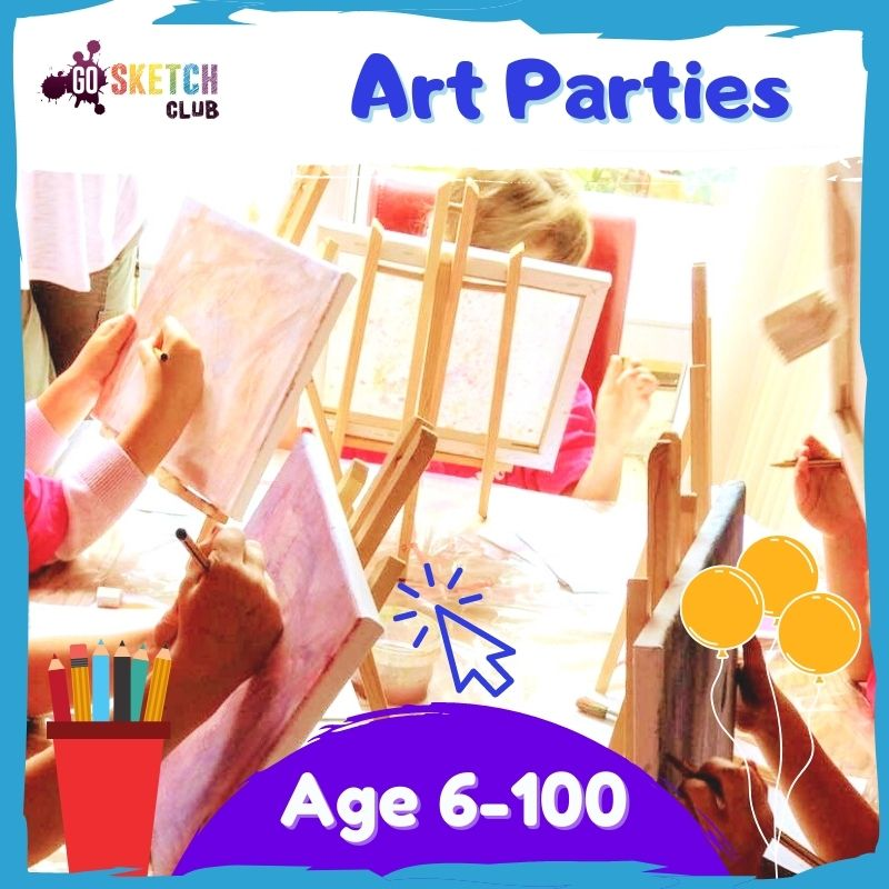 bristol, bath, exeter art parties